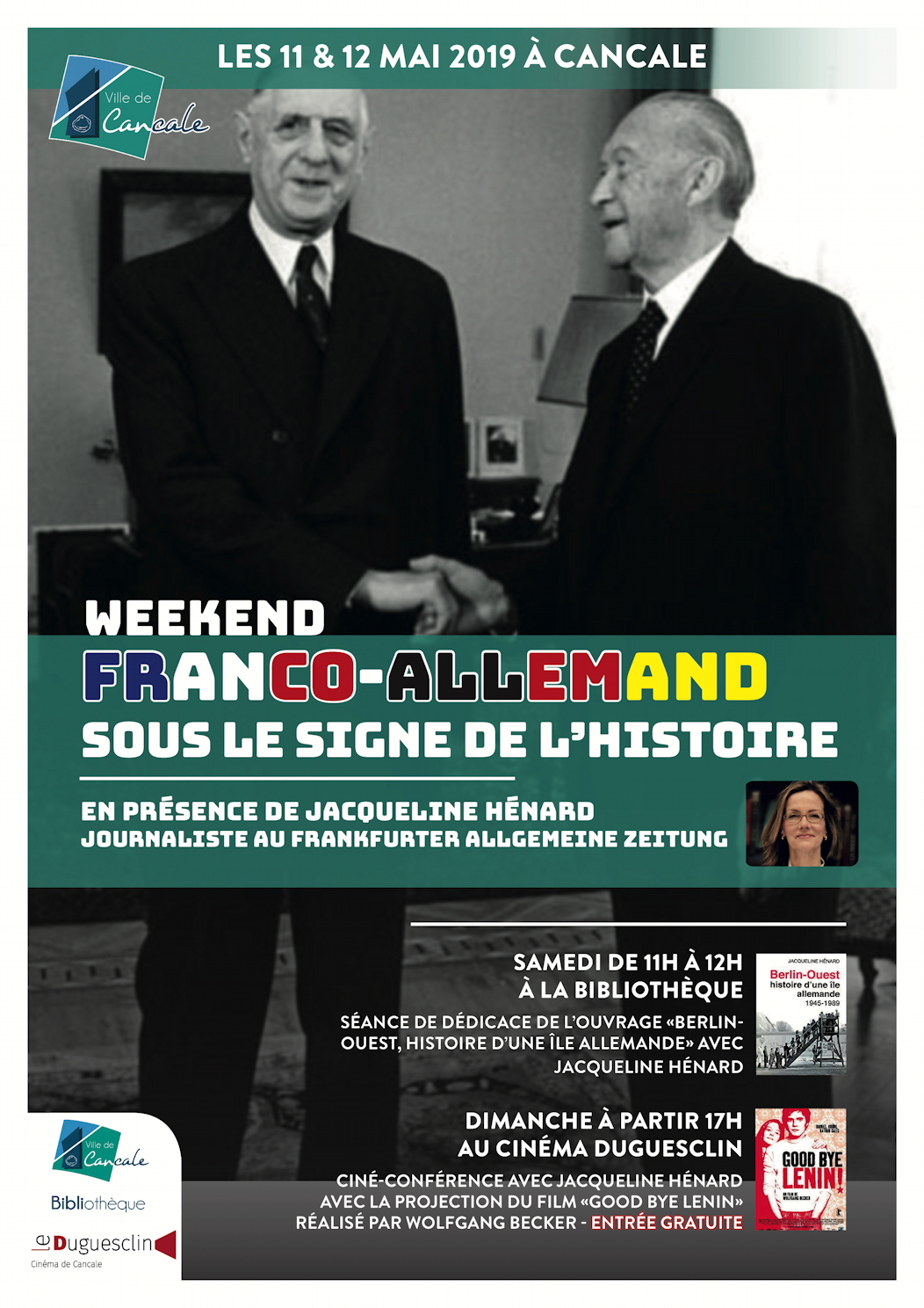 affiche weekend franco allemand